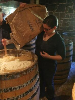 Adding the malt